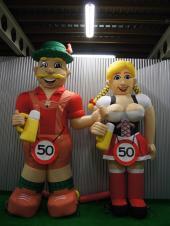 Tiroler dame en heer