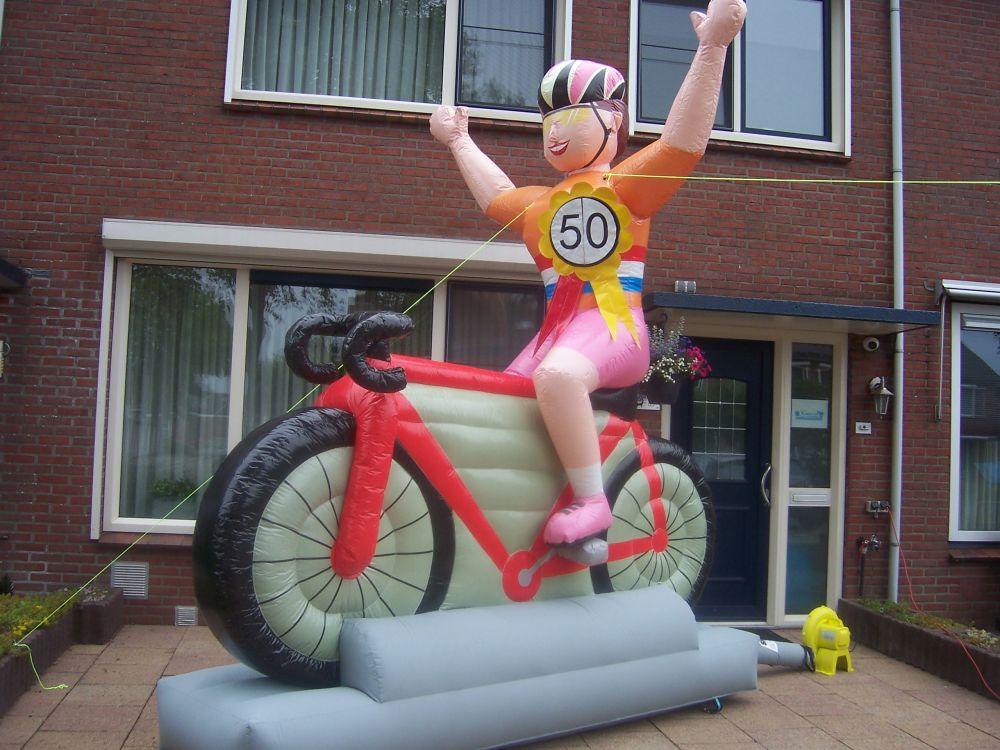 Nieuw in ons assortiment: wielrenners!!